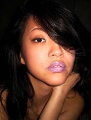 ::dAy 1:: PuRple LipS (lavender)