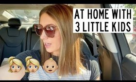 DAY IN THE LIFE WITH 3 KIDS | TRADER JOES HAUL | Kendra Atkins
