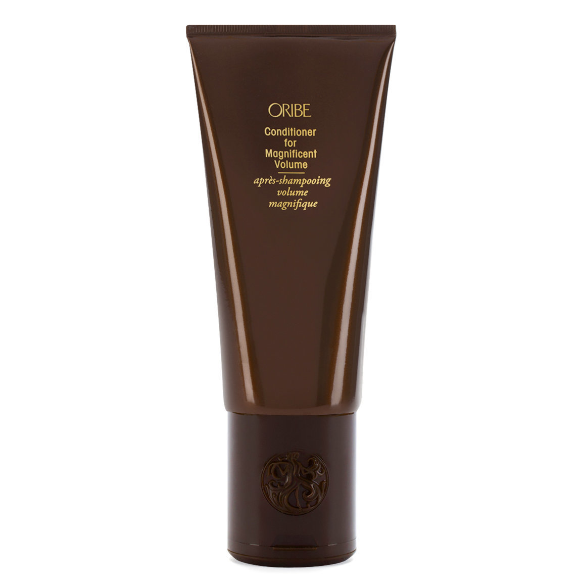 Oribe Conditioner for Magnificent Volume product smear.