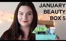 January Beauty Box 5 Unboxing & Review | OliviaMakeupChannel