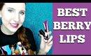 The BEST Berry Lipsticks | My Favorite Cruelty Free Berry Lipsticks