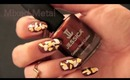 HOW TO: Fall Nail Art (Gold & Silver Leaf)