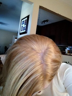 how to fix yellow roots on blonde hair