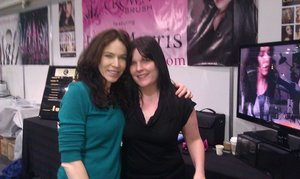 My idol, makeup artist Rae Morris. IMATS 2011