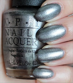 From the San Francisco Collection out in August. Click here to see my in-depth review and more swatches: http://www.swatchandlearn.com/opi-havent-the-foggiest-swatches-review/