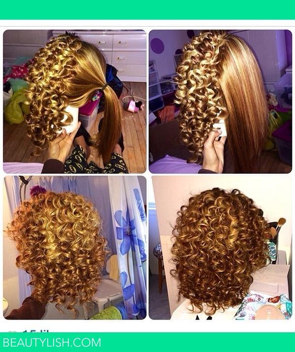 Spiral Wand Curls 💁 Ebonie A S Photo Beautylish