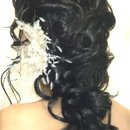 Bridal Twisted Curls