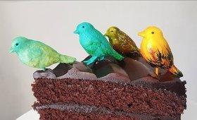 DIY Birdies Fondant Toppers
