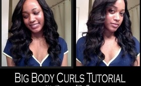 Big Body Curls | Getting Curls with Body Using a Curling Iron
