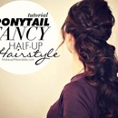 How to Romantic & Elegant Curly Half-Up Half-Down Updo Hairstyle Tutorial Video