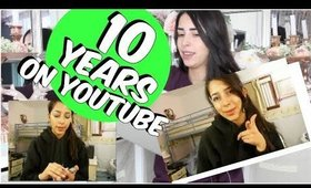 REACTING TO MY FIRST YOUTUBE VIDEO 10 YEARS ON YOUTUBE