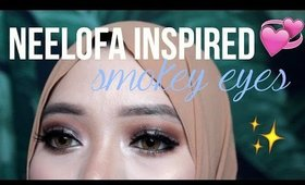 NEELOFA INSPIRED SMOKEY EYES | MORPHE 350 PALETTE