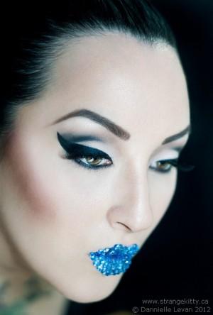 Makeup/Model: Kerosene Deluxe Photo: Dannielle Levan/Strangekitty.ca