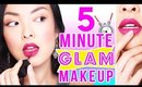 5 MINUTE MAKEUP FOR GIRLS ON THE GO!