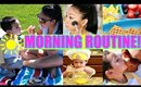 SUMMER MOMMY MORNING ROUTINE!
