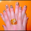 Bling Nailes... Leopard.