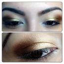 bronzed eyeshadow