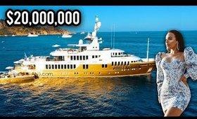 INSANE $20 MILLION DOLLAR GOLD YACHT | GRWM