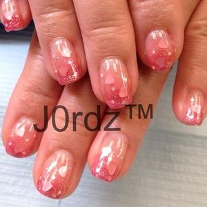 Heart holograms eriko nail – ERI-122 http://fingertipfancy.com/flirty-lover-2