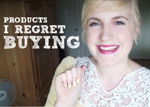 here is a link to my most recent blog post/video on the products that I regret buying. Please check it out! http://lbdgirls.blogspot.ca/2012/06/products-i-regret-buying.html