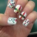 christmas nails 🎅