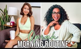I Tried Oprah Winfrey's Morning Routine 2020 (Billionaire Habits You NEED To Try!!)
