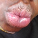 healthy taken cared of lips