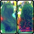 waves / curly