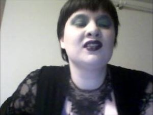 I did my own take on the Evil Queen make up and I love the look on me.