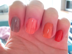 Jesse's Girl Julie G Nail Polish Collection  For nail polish names and a review please visit my blog:  www.mazmakeup.blogspot.com