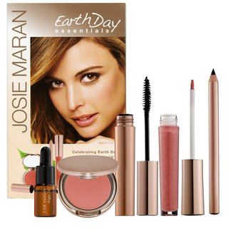 Josie Maran Earth Day Essentials Green-On-The-Go Kit