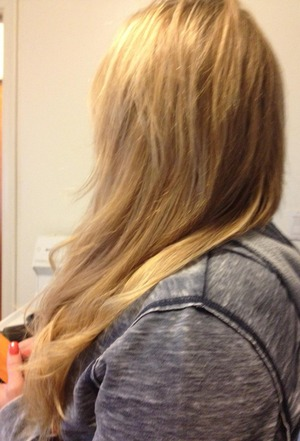 extensions and hair color by Christy Farabaugh