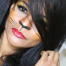Makeup Tigress Halloween
