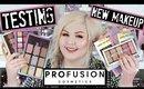 TESTING PROFUSION COSMETICS | New Makeup At Target