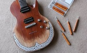 Carving A Guitar For The First Time