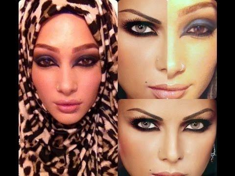 Haifa Wehbe Arabic Makeup Tutorial هيفاء وهبي مكياج سموكي