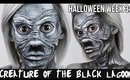Grayscale 'Creature from the Black Lagoon' Makeup | HALLOWEEN 2014