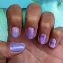 Purple Fractals - Nail Art - Nail Decals