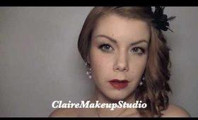 40's make-up look tutorial - Veronica Lake
