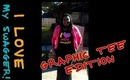 Casual OOTD | I ♥ My Swagger - Graphic Tee Edition