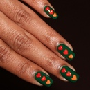 Green Nabi nails