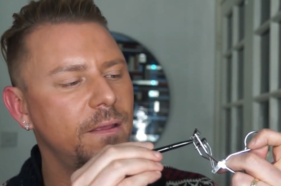 How To Tightline Eyes And Curl Lashes In One Step Beautylish