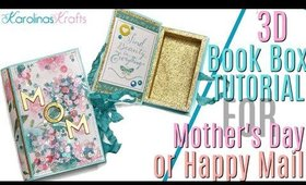 How to Put Together a Book Box Tutorial, Book Box Mother's Day Gift Idea, Happy Mail Gift Idea