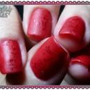 Red Matte-allic Stamping