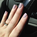 Purple and silver sparkles