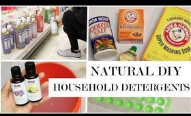 Natural Homemade Detergents + Skechers Giveaway! | Spring Cleaning DIYs