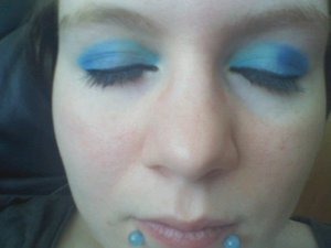Duel Tone Eyes Dark Blue and Light Blue <3