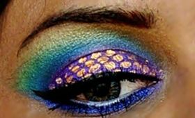 Peacock Inspired Make up !!!