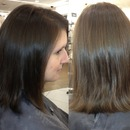 Simple Long Bob Haircut