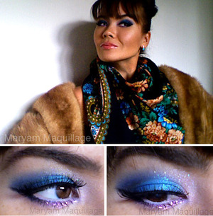 Russian style makeup  http://www.maryammaquillage.com/2012/01/la-russe.html